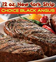 New York Strip Choice Angus 12oz